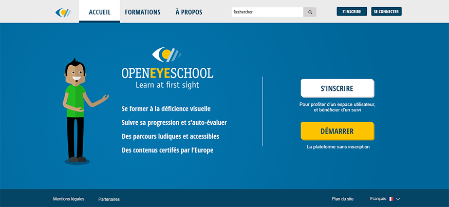OpenEye School - Home page
